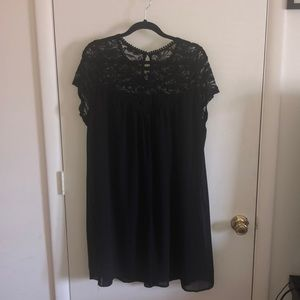 Free flowing cocktail dress